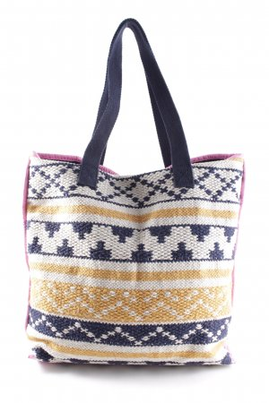 Pieces Bolso de tela multicolor look casual