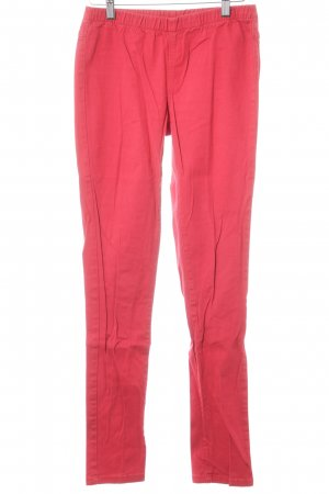 Pieces Stretch jeans rood casual uitstraling