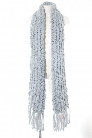 Pieces Knitted Scarf azure casual look