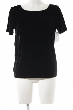 Pieces T-shirt nero stile minimalista