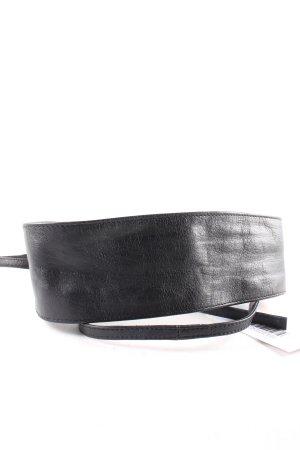 Pieces Taillengürtel schwarz minimalistischer Stil