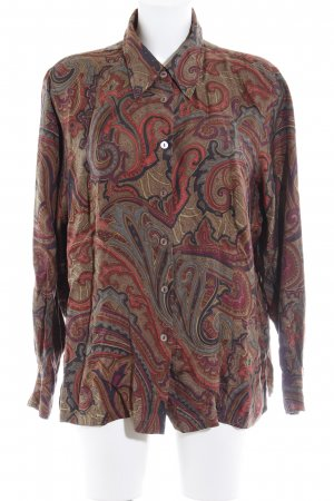 Pier Angelini Hemdblouse abstract patroon casual uitstraling
