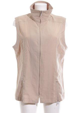 Pier Angelini Sports Vests cream casual look