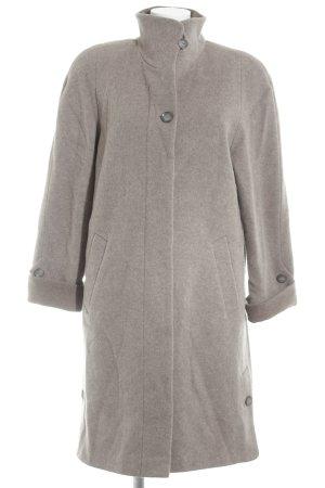 Pier Angelini Wool Coat grey brown vintage look