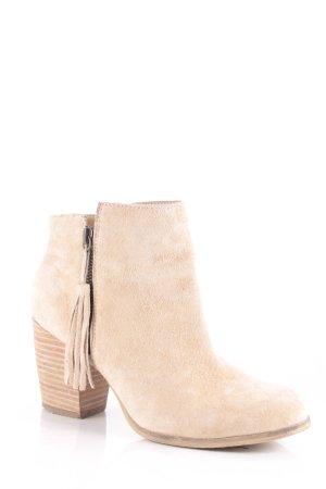 Pier one Ankle Boots hellbeige Boho-Look