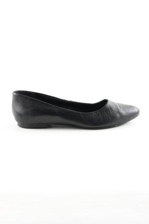 Pier one Ballerinas mit Spitze schwarz Business-Look