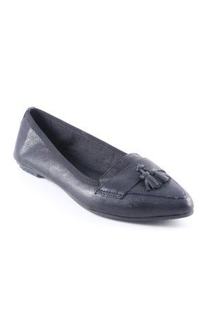 Pier one Ballerinas mit Spitze schwarz Casual-Look