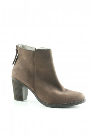 Pier one Booties graubraun Casual-Look
