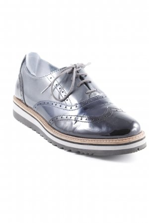 Pier one Wingtip Shoes black-anthracite business style