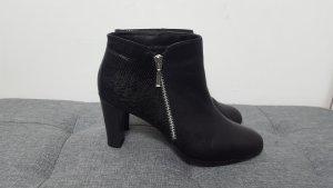 Pier One Damen Ankle Boots Stiefeletten schwarz Reißverschluss Größe 39
