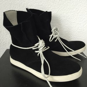 ** PIER ONE ** High Top Sneaker SchnürStifelette Gr. 39 ** NEU ** Echtleder