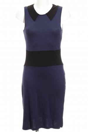 Pier one Jerseykleid dunkelblau-schwarz Casual-Look