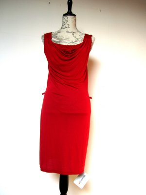 Pier One Kleid, neu, mit Wasserfallausschnitt, Größe S