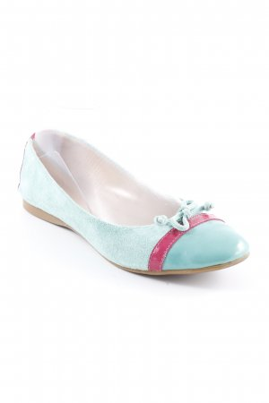 Pier one Lackballerinas mint-magenta Casual-Look