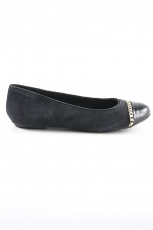 Pier one Patent Leather Ballerinas black elegant