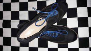 Pier one Zapatos brogue negro-azul Cuero