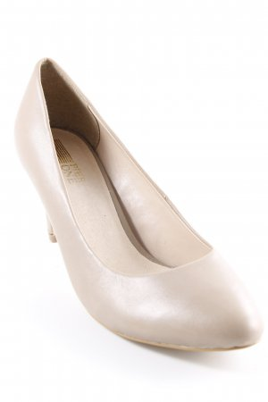 Pier one Zapatos Mary Jane beige estilo sencillo