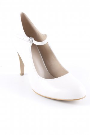 Pier one Mary Jane Pumps wollweiß Elegant