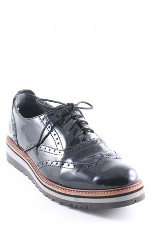 Pier one Mocassins noir-brun