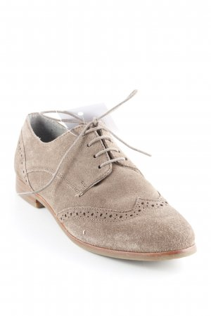 Pier one Zapatos estilo Oxford marrón claro elegante