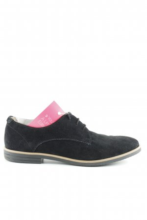 Pier one Richelieu-schoenen zwart zakelijke stijl