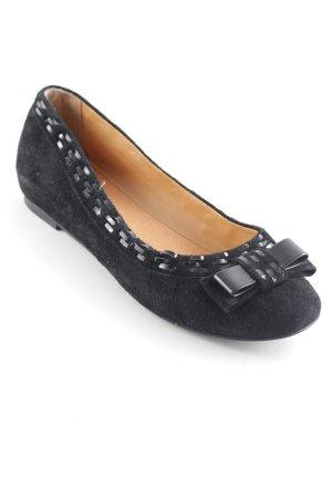 Pier one Ballerines à lacets noir style simple