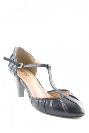 Pier one Riemchenpumps schwarz Casual-Look