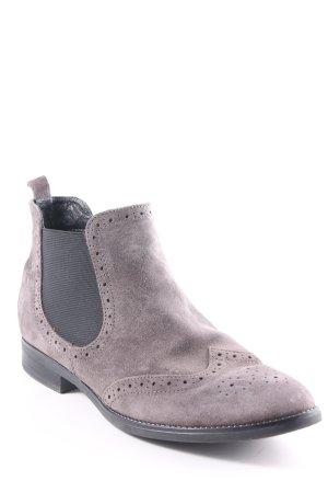 Pier one Schlüpf-Stiefeletten grau schlichter Stil