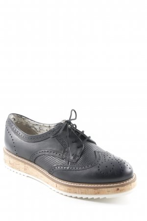 Pier one Schnürschuhe abstraktes Muster Casual-Look