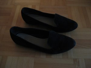 Pier One schwarze Wildleder-Loafer