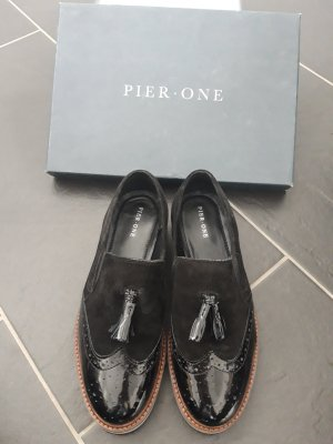 Pier one Scarpa business nero