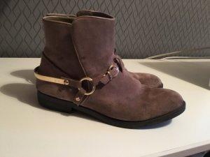 pier one stiefeletten boots ankle boots wildleder stiefel blogger