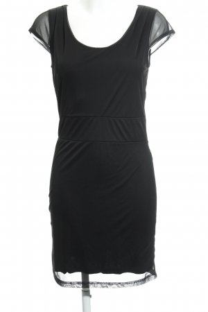 Pier one Vestido elástico negro elegante