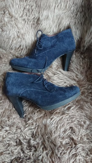 Pier One Wildleder Booties Stiefeletten Gr 38/39