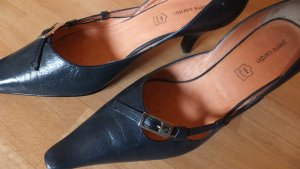 Pierre Cardin Strapped pumps dark blue leather