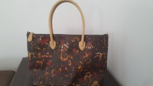 Shoulder Bag multicolored synthetic material