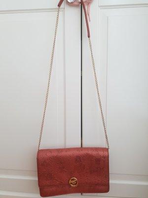 Crossbody bag bronze-colored