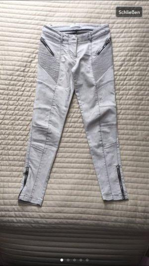Pierre Balmain Jeans 7/8 gris clair-argenté