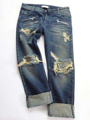Pierre Balmain Boyfriend jeans donkerblauw