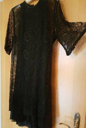 PIERRE BALMAIN DESIGNER KLEID # kokettes Lace Dress mit Fransen# 20 Jahre Stil# mega angesagt # D 40/ D42