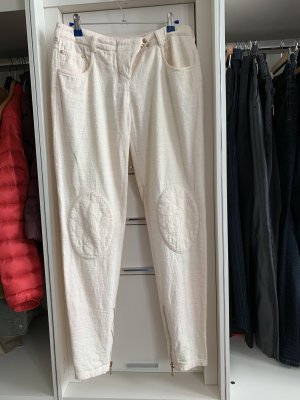 Pierre Balmain Low-Rise Trousers white-pink