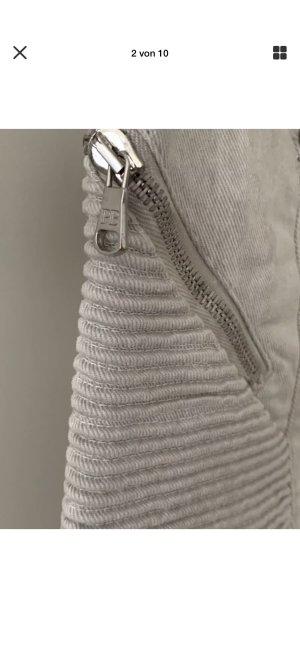 Pierre Balmain Jeans da motociclista grigio chiaro-grigio