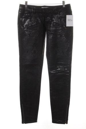 Pierre Balmain Slim Jeans schwarz Casual-Look