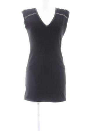 a40b8e144 Pierre Balmain Vestido elástico negro estilo fiesta
