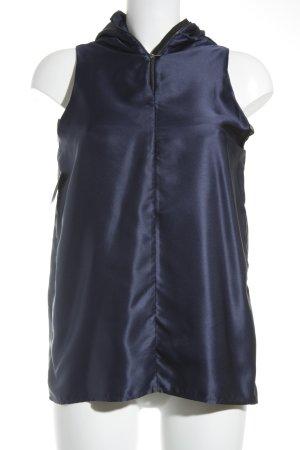 Pierre Cardin ärmellose Bluse dunkelblau Elegant