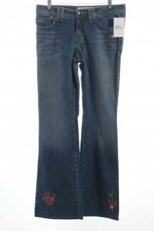 Pierre Cardin Boot Cut Jeans blau Hippie-Look