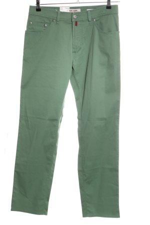 Pierre Cardin Five-Pocket-Hose grün Casual-Look