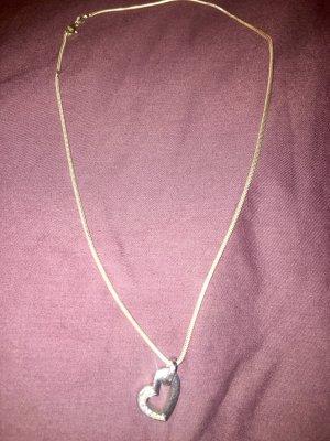 Pierre Cardin Halskette mit Herzanhänger