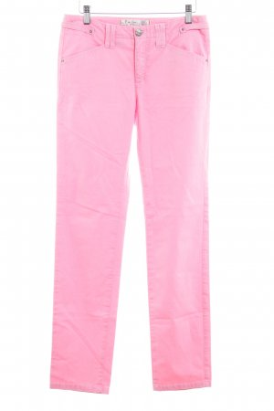 Pierre Cardin High Waist Trousers pink classic style