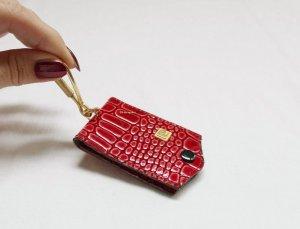 Pierre Cardin Porte-clés rouge foncé-rouge brique cuir